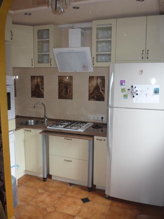 """готовая кухня в """"хрущевке"""""""