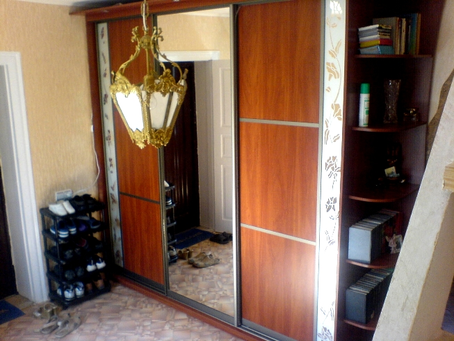 декоративные элементы - узоры пескоструем на стекле или зеркале