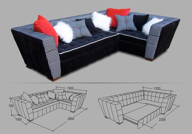 """Угловой диван """"Невада"""""""