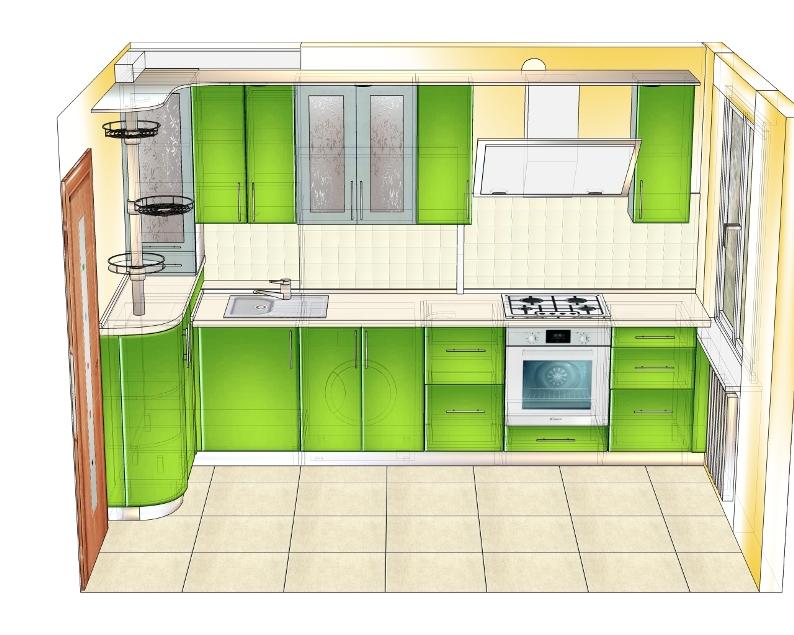 утвержденный проект зеленой кухни