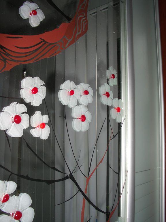 декорирование: наклейка стекла (фьюзинг)