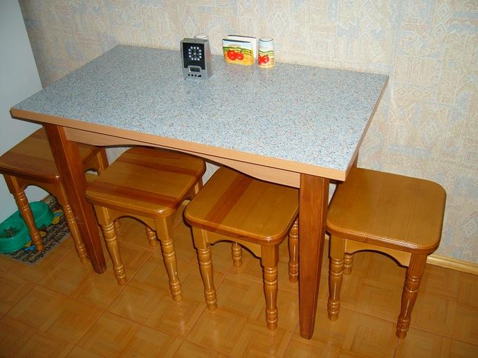 стол прямоугольный для кухни