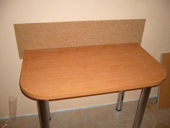 стол пристеночный с 2 закругленными углами