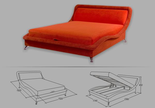 """Кровать """"Элегия"""""""