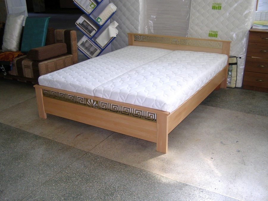 """Кровать """"Афина"""" из натурального дерева"""