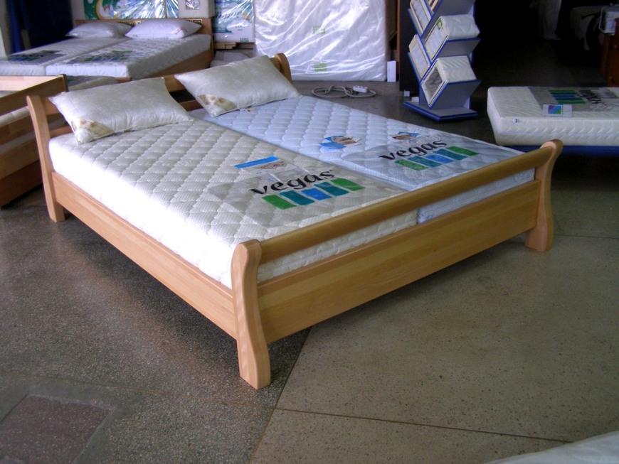 """Кровать из натурального дерева """"Диана"""""""
