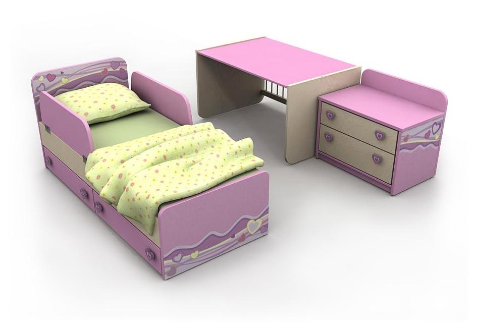 кровать-манеж Pn-30 в комплекте