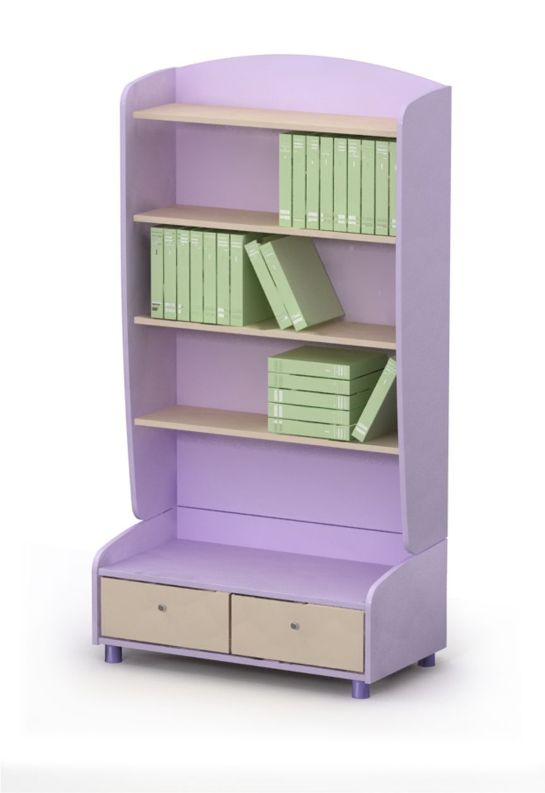 Шкаф книжный открытый Si-04