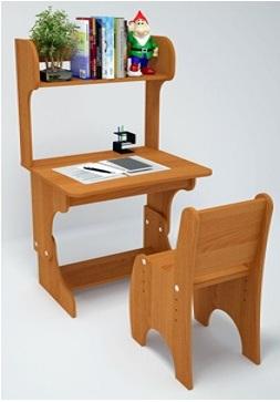 парта со стульчиком (эконом)