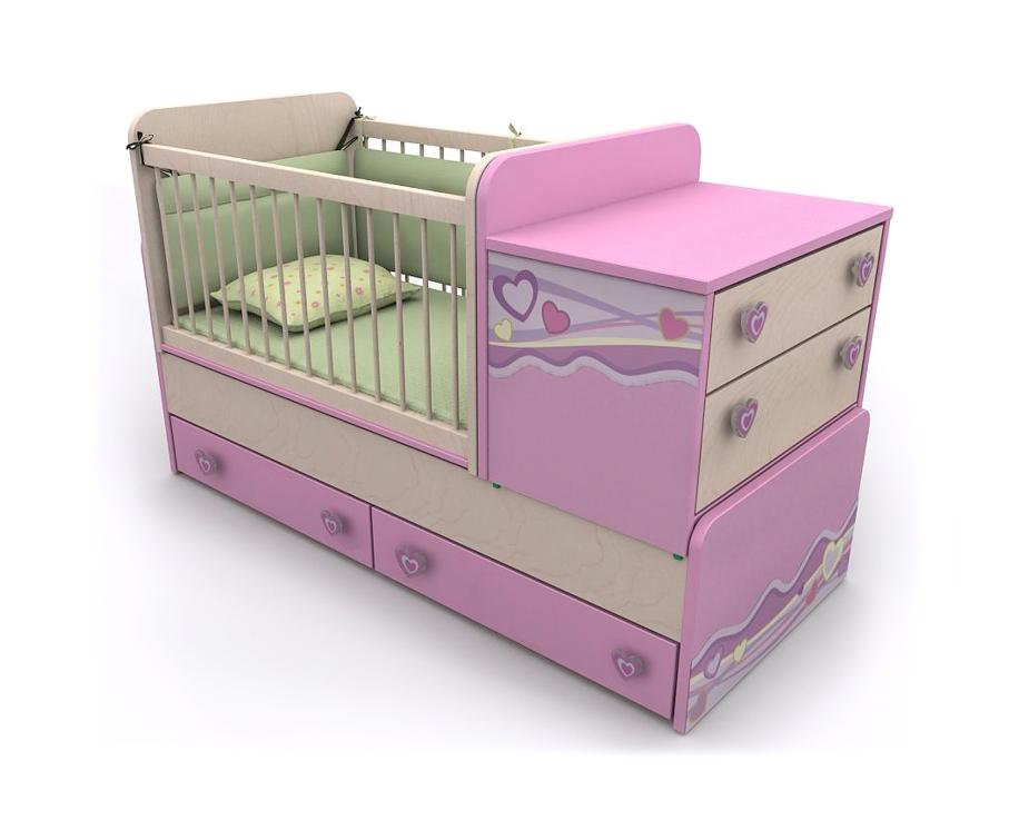 кровать-манеж Pn-30