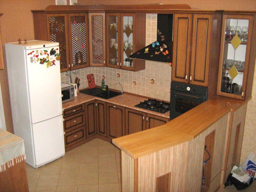 кухня в частном доме по проекту