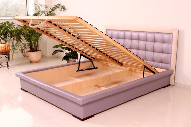 """кровать """"Нифертити"""" с открытым коробом"""