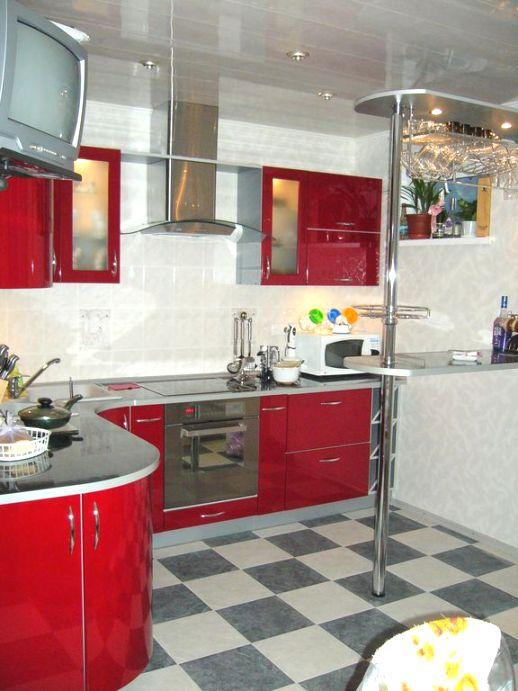 планировка кухни в высотном доме