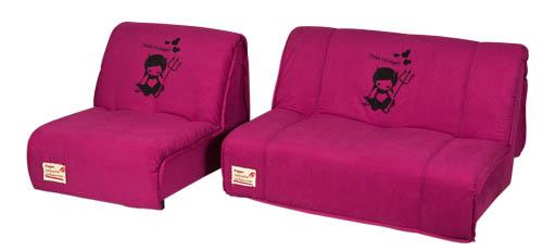 вариант 1 дивана и кресла из коллекции Fusion A