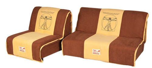 вариант 4 дивана и кресла из коллекции Fusion A