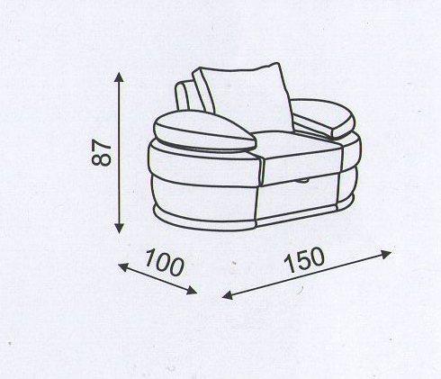 """Схема кресла  """"Калейдоскоп"""""""
