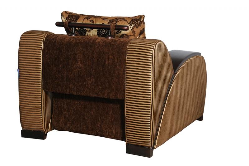 Кресло к дивану: вид сзади