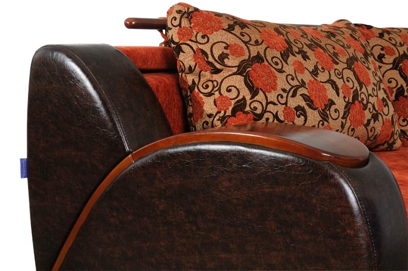 """Подлокотник дивана """"Маэстро"""": гнутое дерево"""