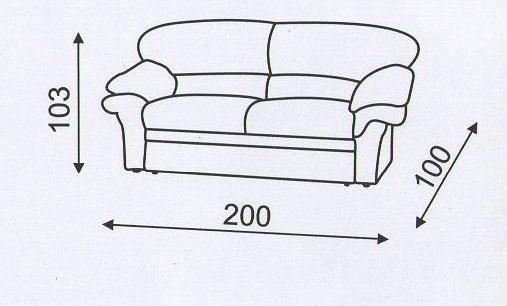 """схема дивана """"Вива"""""""