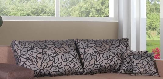 "Диван ""Джаз"": тканевые подушки"