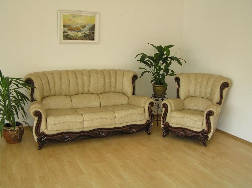 """""""Джокер"""": диван 3-ка и кресло в жаккардовой ткани"""