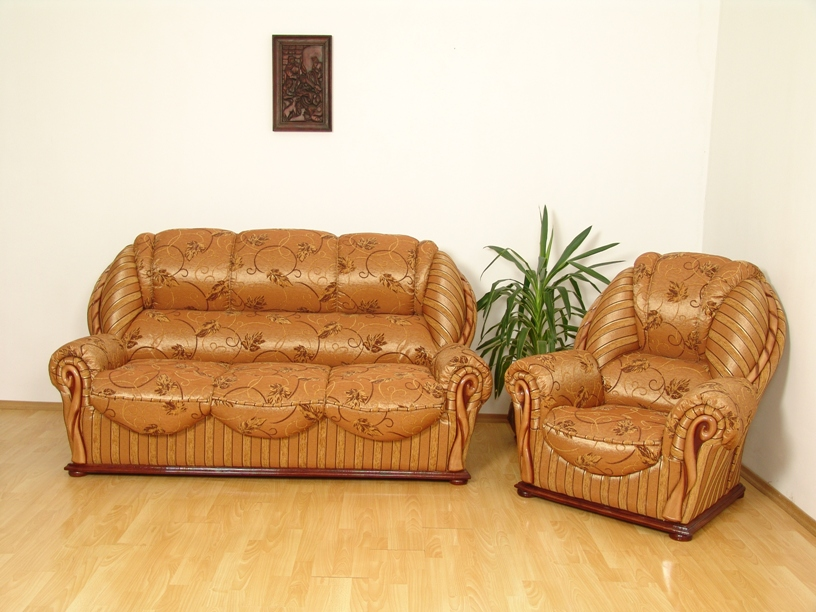 """""""Луиза"""": диван 3-ка и кресло в шенилле"""