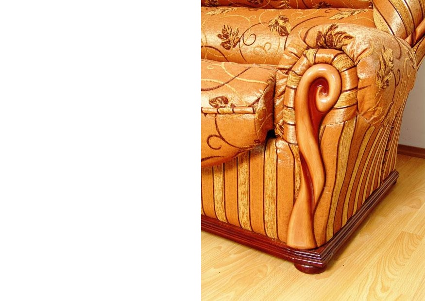 """Угол """"Луиза"""": декор из натурального дерева с патиной"""