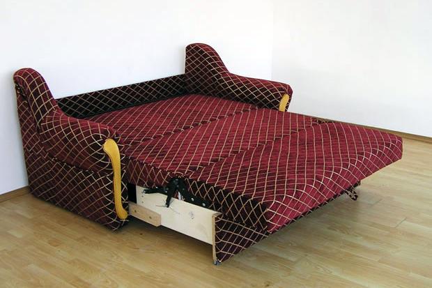 """диван """"Лукас Изабель"""" в разложенном виде"""