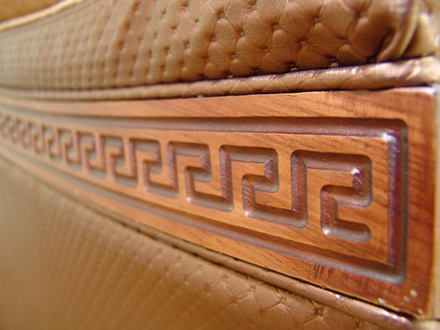 """""""Олимп"""":  деревянный декор с патиной"""