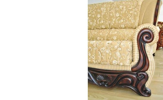 """""""Посейдон"""": декор подлокотника из натурального дерева (бук)"""