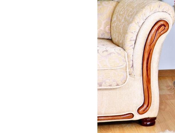 """Угол """"Сеньор"""": декор на подлокотниках"""