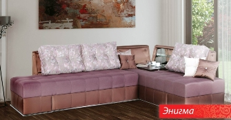 "Угловой диван ""Энигма"" фабрики Sidim"