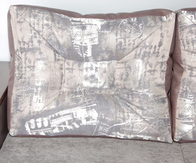 """Диван-угол """"Сиеста"""": тканевые подушки"""