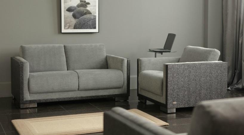 """Офисный диван """"Хилтон"""" в комплекте"""