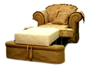 """Трансформация кресла-кровати """"Сенатор"""""""