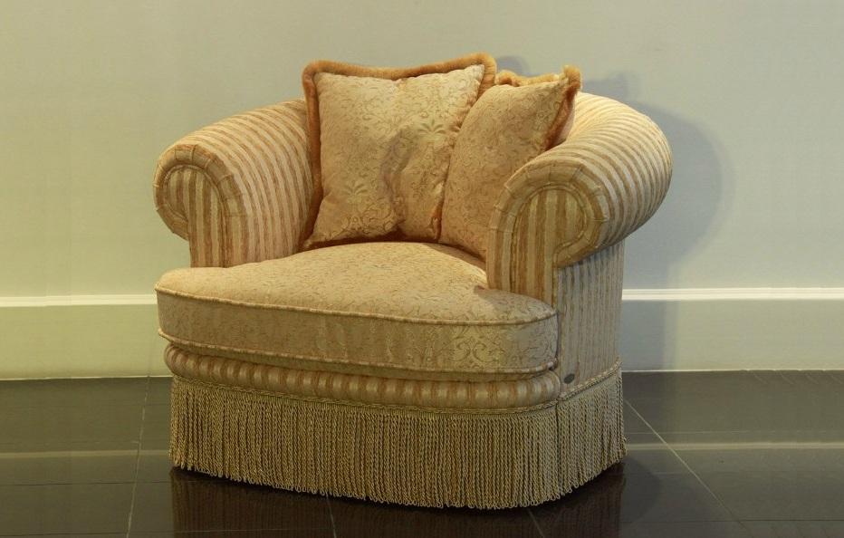 """Кресло """"Сенатор"""" с подушками"""