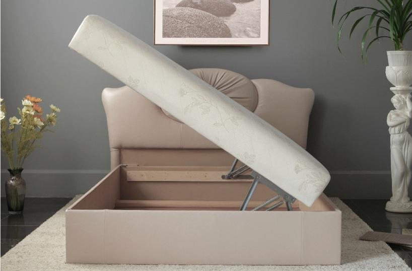 """Кровать """"Роза"""": короб для белья"""