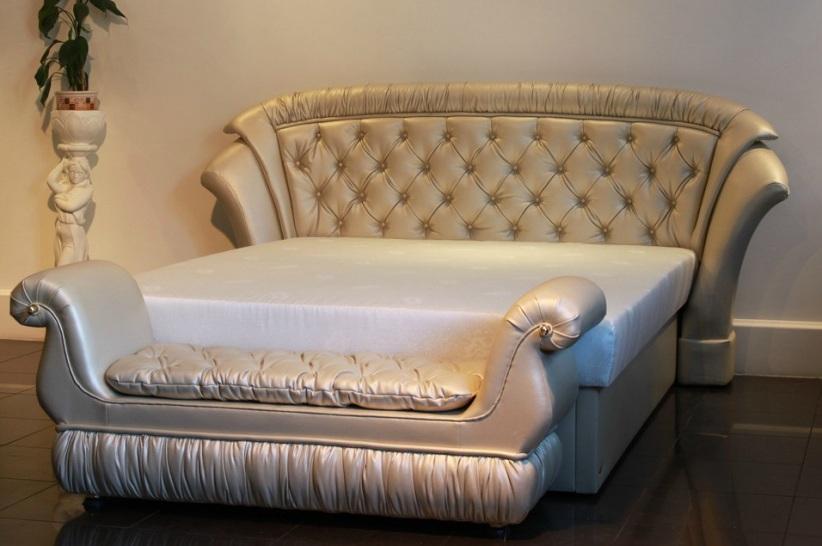 """Комплект """"Клеопатра"""": кровать + банкетка"""