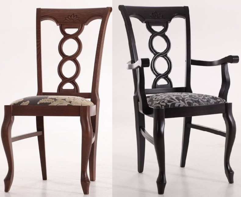 """Два варианта стула """"Валенсия"""""""