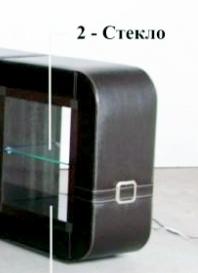 Подлокотник со стеклянной полкой или без