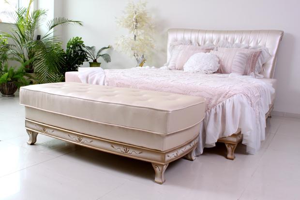 """Кровать """"Фараон"""" с банкеткой"""