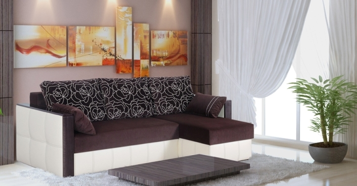 "Угловой диван ""Майами"" фабрики Sidim"