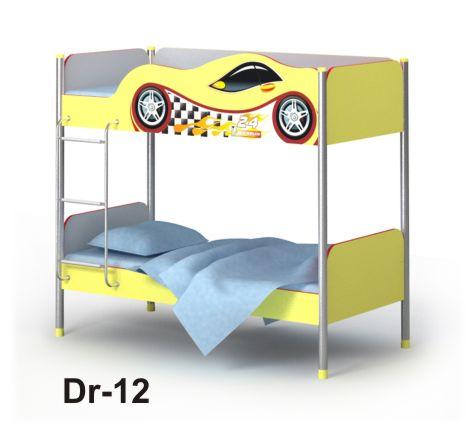 Детская двухэтажная кровать Dr-12