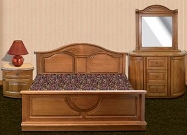 """Спальня """"Княжна"""" с двуспальной кроватью"""