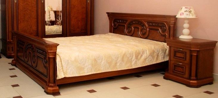 """Спальня """"Колизей"""" с большой кроватью"""