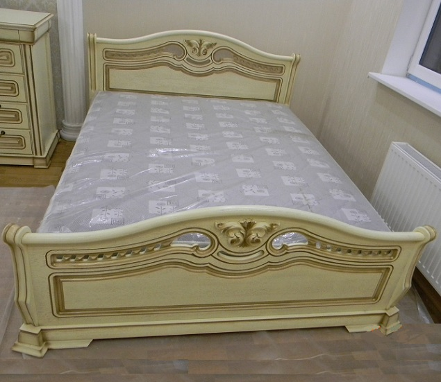"""Кровать спальни """"Орхидея"""""""