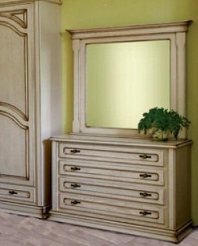 "Спальня ""Роксолана"": комод с зеркалом"