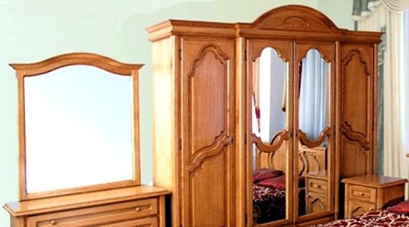 """Спальня """"Соломия"""": резные фасады"""