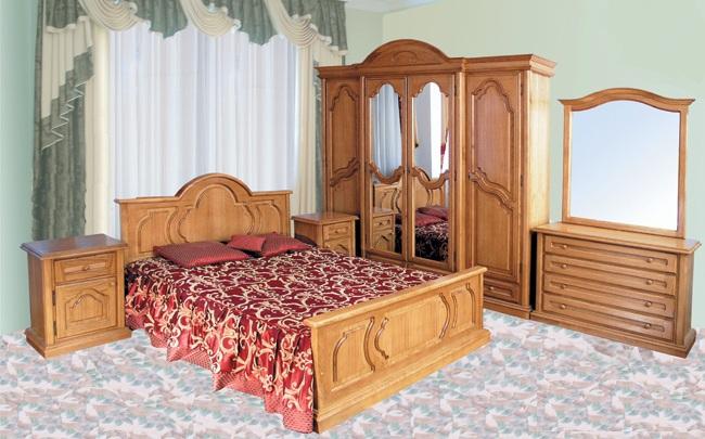 """Спальни из натурального дерева """"Юрвит"""""""