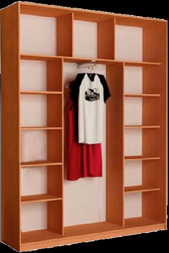 Наполнение 3-дверного шкафа (тип 3, вариант 2)